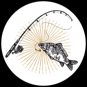 poisson canne à pêche
